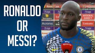 Ronaldo or Messi? ft. Lukaku,Mbappe,Salah 2021