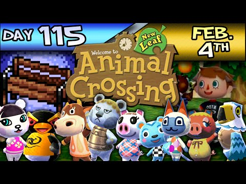 Animal Crossing: New Leaf – Day 115 – Feb. 4 – Send Him To Belize!