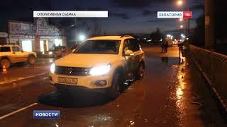 Авария в Евпатории: оба водителя в больнице
