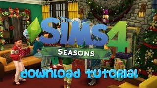 How To Get The Sims 4 Seasons With (ALL PACKS) Free For PC *LEGIT*