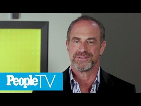 Christopher Meloni On His 'Instant Chemistry' With Mariska Hargitay On Set Of 'SVU' | PeopleTV