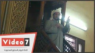 بالفيديو.. خطيب عمر مكرم: 80% من جرائم الزنا والإغتصاب سببها الإدمان