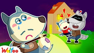 No No Wolfoo, Robot Is Not Your Dad! - Kids Stories About Wolfoo Family   Wolfoo Family Kids Cartoon