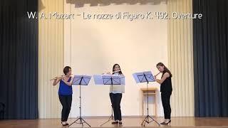 W. A. Mozart - Le nozze die Figaro K. 492, Overture (Flute East Trio)