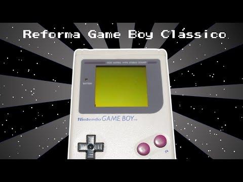 Reforma Do Game Boy Clássico - Resgatados #04