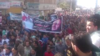 رصد| مسيرة بالدقهلية تضامنا مع أحد المحكوم عليهم بالإعدام في مذبحة بورسعيد