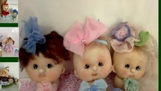 як зробити ляльку своїми руками з колготок майстер клас
