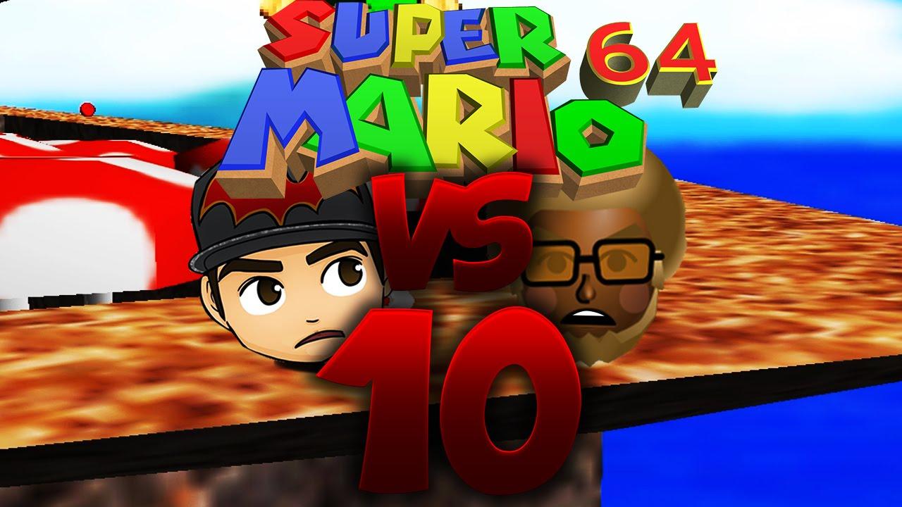 1on1  super mario 64  part 10  rennen aufm pilz  youtube