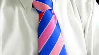 How to tie a tie, Step-by-Step, Half Windsor, Quick and Easy