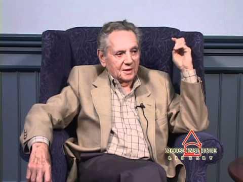 Witt World War II veteran Natick Veterans Oral History Project