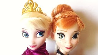 Disney Store Frozen Deluxe Fashion Doll Set 2013 restyling hair tips