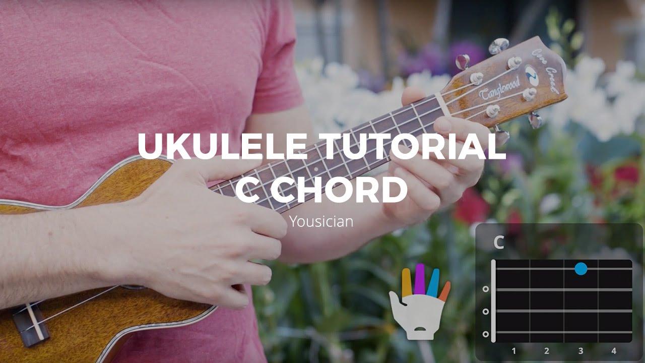 Ukulele tutorial c chord youtube ukulele tutorial c chord hexwebz Images