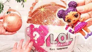 Bola Gigante de LOL Abrindo Big LOL Surprise Com 50 Surpresas e Bonecas Raras  -Brinquedonovelinhas