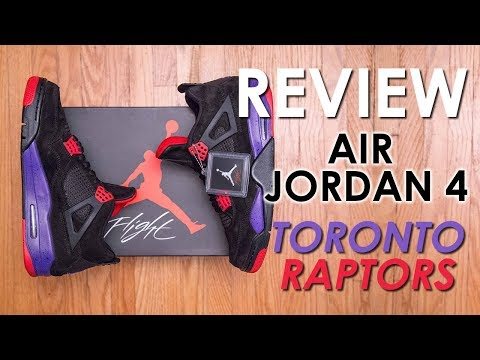 Supposed To Be A Drake Collab? || Air Jordan 4 Retro NRG Toronto Raptors Review And On Feet