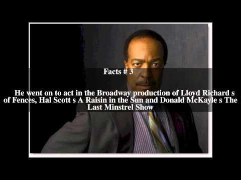 Robert Gossett Top  6 Facts
