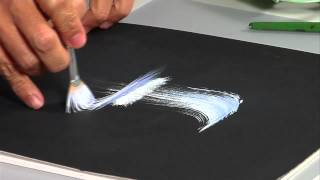 The Joy of Crafting Show 200/1 - One Stroke Waterfall painting