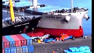 Big Ships Crash! Top 10 Epic Collisions Ships & Boats