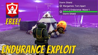 New Twine Peaks Endurance Exploit (Free Banner) | Fortnite Save The World Glitch