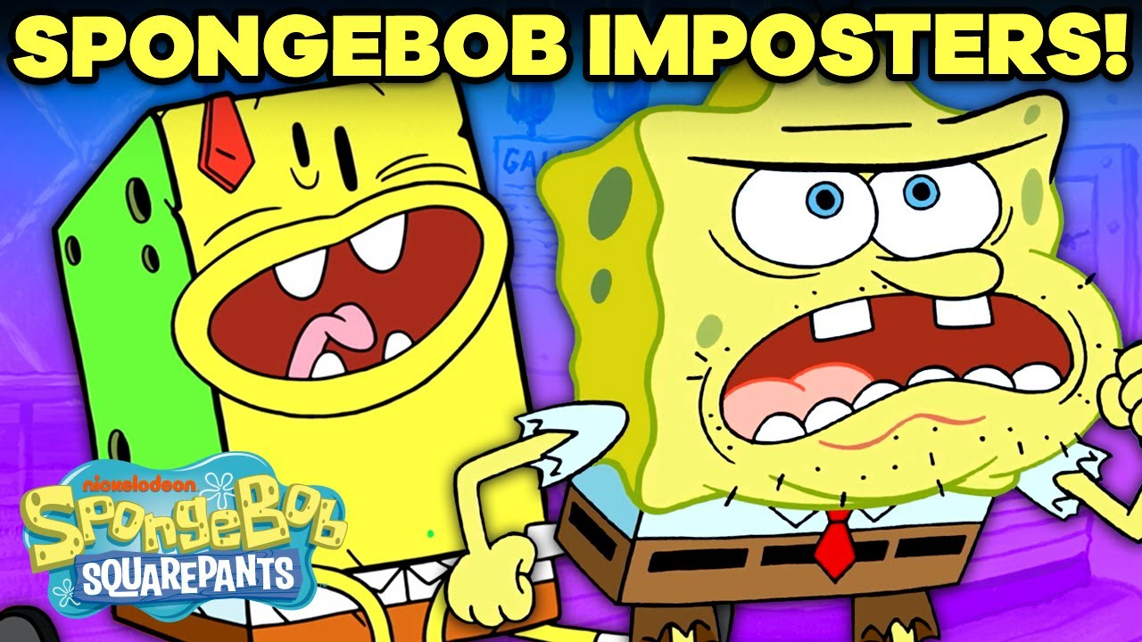 Every SpongeBob IMPOSTER Ever! 🧽