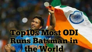 Top10s Most ODI Runs Batsman In The World|Most Runs Batsman in 2019|By Secret Top 10s