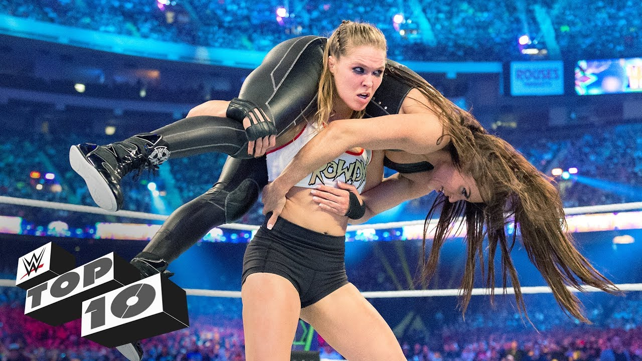 Women's WrestleMania milestones: WWE Top 10, March 30, 2019