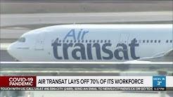 Business report: Air Transat announces massive layoffs