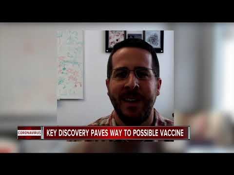 Man From Metro Detroit Makes Key Discovery In Coronavirus, Paves Way For Vaccine
