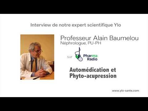 Interview du Professeur Alain Baumelou sur Pharma Radio