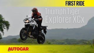 Triumph Tiger Explorer XCx | First Ride | Autocar India