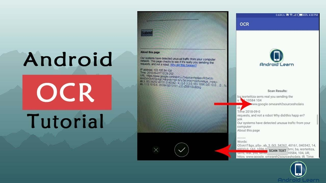 How to Text from image OCR using Google Vision API in Android Studio with  tesstwo library