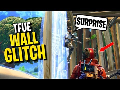 How to WALL PHASE Glitch (why Tfue got banned)   Fortnite Glitches