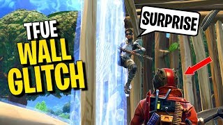 How to WALL PHASE Glitch (why Tfue got banned) | Fortnite Glitches