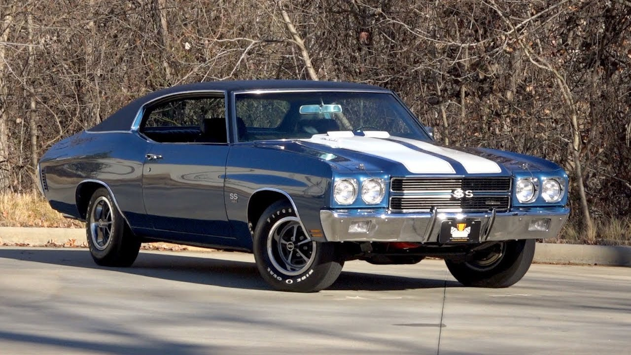 1970 Chevrolet Chevelle Ss Ls6 Sold 136408 Youtube