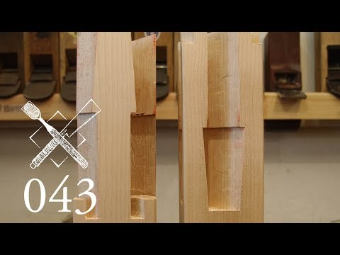 "Joint Venture Ep.43: Four faced goose neck splice ""Sihou kama tsugi"" (Japanese Joinery)"