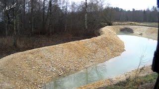 видео Обустройство территории: как очистить озеро