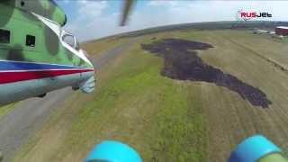 Mil Mi-24 solo at RusJet Masters 2014