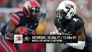 Utah-Colorado football game preview