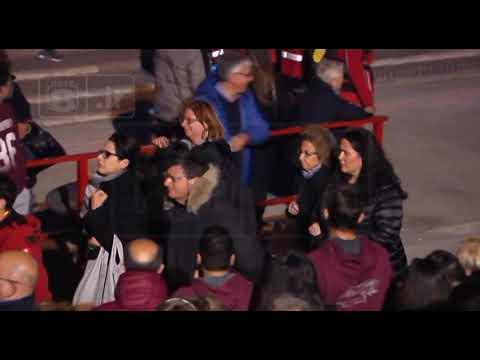 L'Aquila - Processione tra i cantieri