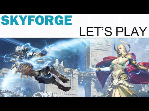 SkyForge Let's Play - Part 3 - Factory 501 (Open Beta)