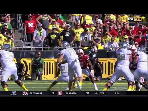 Oregon Ducks vs. Nebraska Corn Huskers- Oregon Highlights 09/09/17