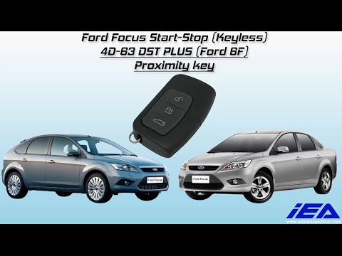 Key programming for a Ford Focus 2011 with a prox key.
