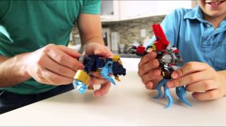 Family Building Time Mega Bloks Skylanders