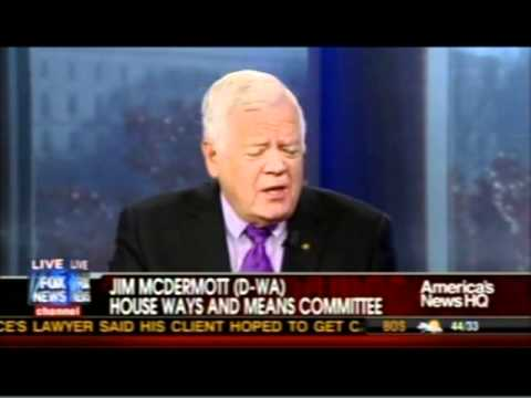 Rep. Jim McDermott Explains the 2011 Tax Increase