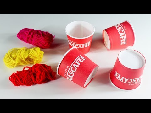 Diy Arts and Crafts From Disposable Tea Cups - Disposable Tea Cup Crafts -Tea Cup Home Decor