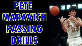Pete Maravich Passing Drills Video Preview