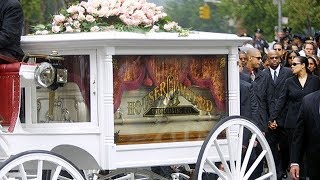 Aaliyah - Her Funeral in 2001 (News Coverage)