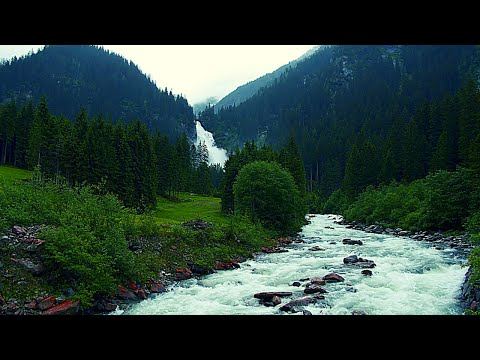 🔴-relaxing-music---meditation-music---waterfall-music---stress-relief---anti-depression-music