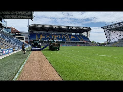 Annual Pitch Renovation At Emerald Headingley Gets Underway