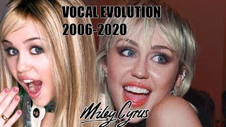 Miley Cyrus VOCAL EVOLUTION 2006-2020 (live)