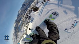 GoPro: Sage Kotsenburg and Jamie Anderson - X Games Aspen Slopestyle Course Preview